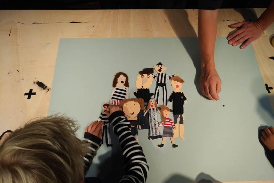 Film ab! Die 4b dreht einen Animationsfilm